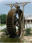 12 foot waterwheel built by sullivan waterwheels